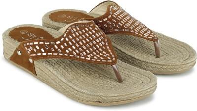 My Foot Women Tan Flats