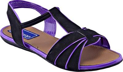 Relexop Women Purple Flats