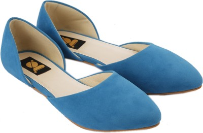Gossip Women Blue Flats