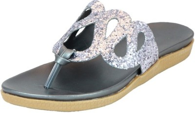 Small Toes Baby Girls Grey Sandals