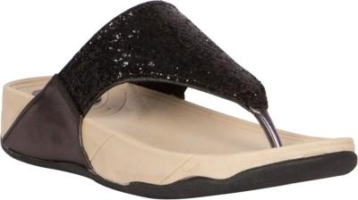 Gomore Women Black Flats