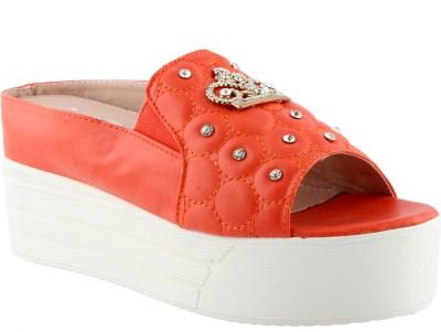 Totes Gallore Women Orange Flats