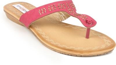 Stylistry Women Pink Flats