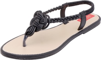 Footrendz Women Black Flats