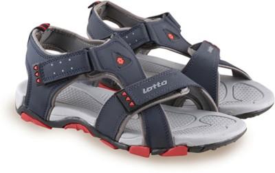 Lotto Men Grey, Navy Sandals