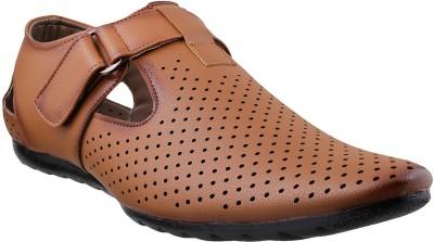 MSL Men Tan Flats