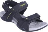 Tracer Men Black Sandals