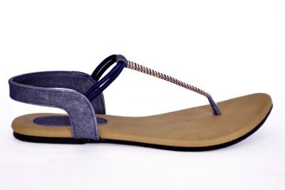 Mesco Women Blue Flats
