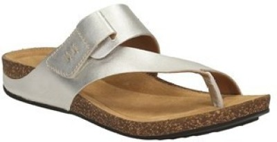 Clarks Perri Coast Silver Leather Women Sports Sandals