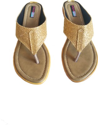 Linnisa Women Yellow Flats