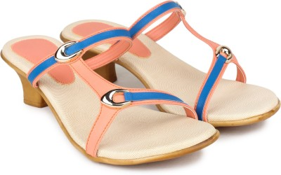 Shezone Women Multicolor Heels