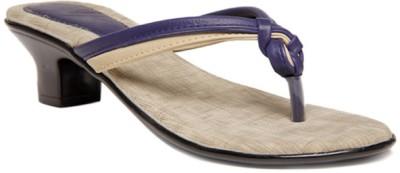 Select Women Purple, Beige Heels