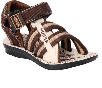11e Boys Beige, Brown Sandals