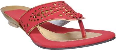 Fescon Women Red Sandals