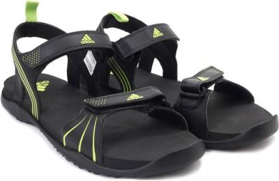 Adidas HEWIS Men Black, Green Sandals