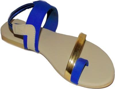 Nanak creation Women Beige, Blue Flats