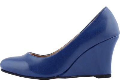 Totes Gallore Women Blue Heels