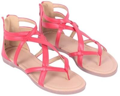 Rialto Women Red Flats