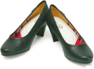 La Briza Claudia Women Black Heels