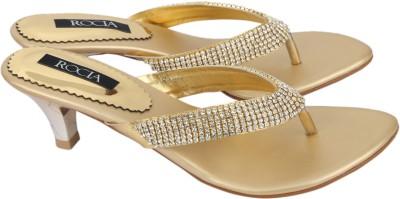 Rocia Women Gold Heels