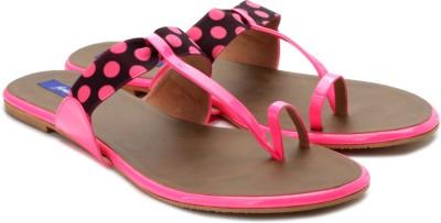 Femme Women Brown, Pink, Black Flats