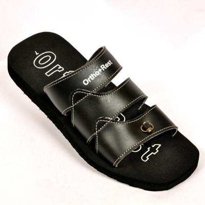 Ortho + Rest Men Black Sandals