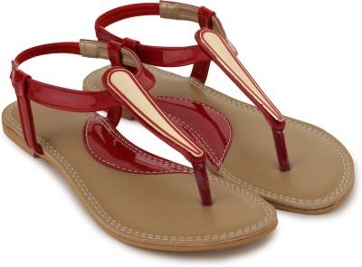 Shezone Women Red Flats