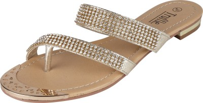 Truffle Collection Women Gold Flats