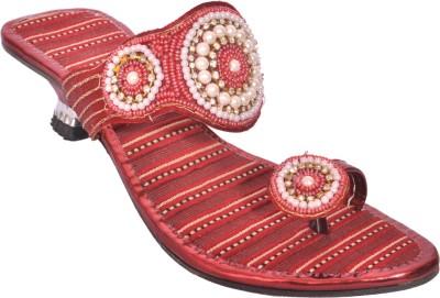 WOMENS CLUB Girls Red Heels