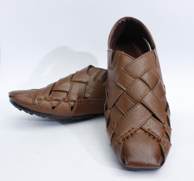 Ashirwad Men Tan Sandals