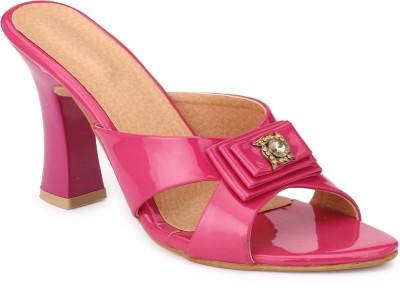 Koyka Women Pink Heels