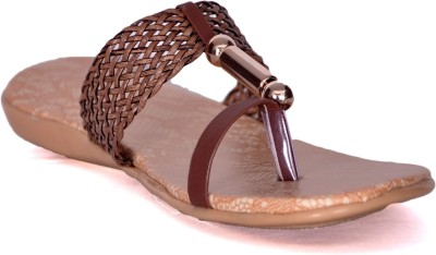 Yorfa Women Brown Flats