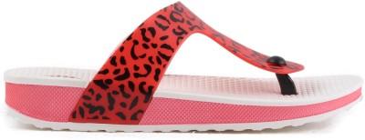 Heaven Deal Women Pink, White Flats