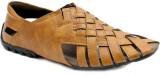 Skoene Men Beige Sandals