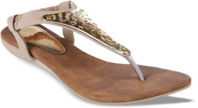Studio 9 Pretty Sandals Women Beige, Gold Flats