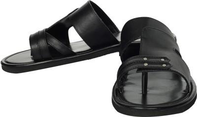 Claude Lorrain Fortune CL Black Ethnic Men Sandals