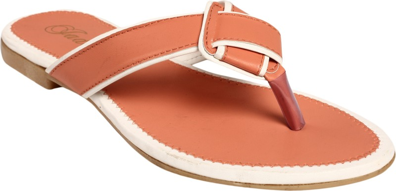 Jade Women Peach Flats