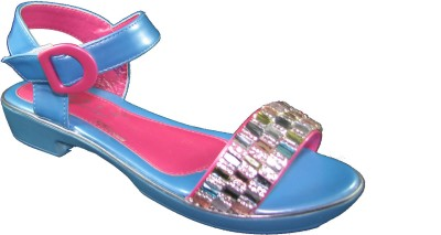 Faith 10002012 Girls Blue Flats