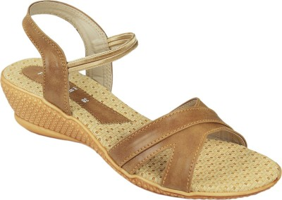 Florish Women Beige Wedges