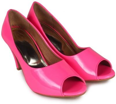 Ziesha Women Pink Heels