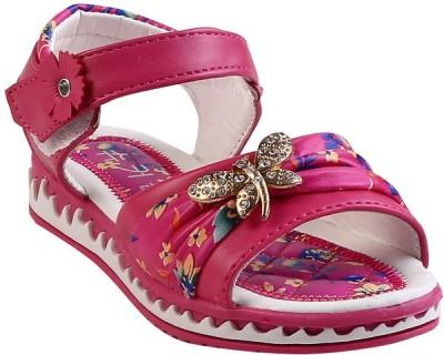 Glinchy Girls Pink Flats