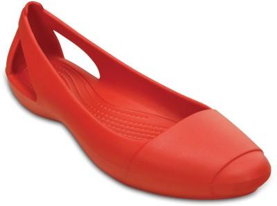 Crocs Women Red Flats