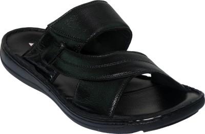 Vittaly Stylish Men Black Sandals