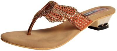 Meestyle Women Brown Heels