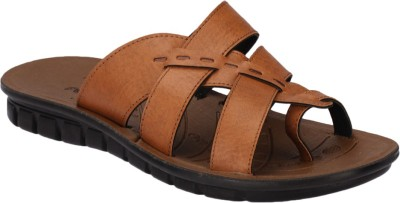 Pu Lite Men Brown Sandals