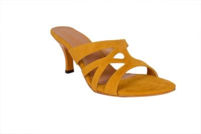 Studio 9 Women Yellow Heels
