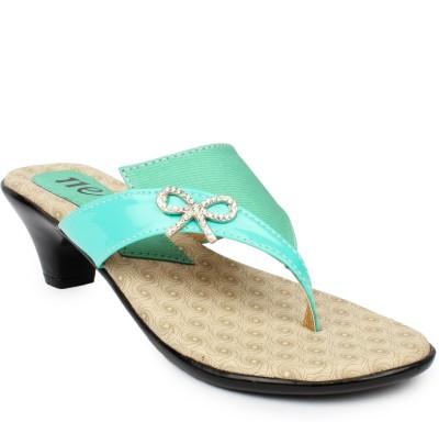 11e Women Blue Heels