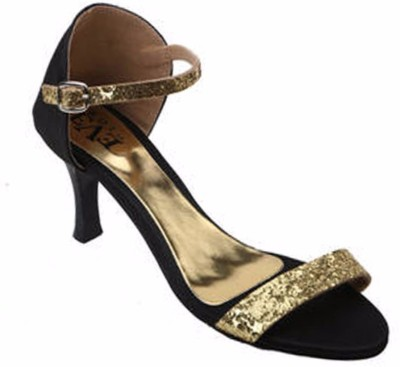 Eve Dior Women Gold Heels
