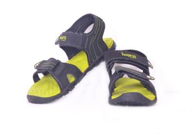 Goldstar Boys Black, Green Sandals