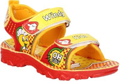 Windy Boys Yellow Sandals